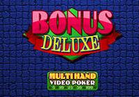 Multihand Poker: Bonus Deluxe Poker