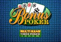 Multihand Poker: Bonus Poker