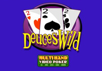 Multihand Poker: Deuces Wild