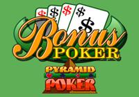 Pyramid Poker: Bonus Poker