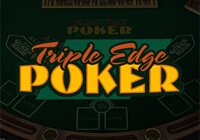 Triple Edge Poker (Three Card Poker)