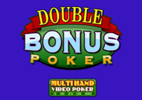 Multihand Poker: Double Bonus Poker