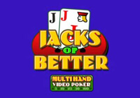 Multihand Poker: Jacks Or Better