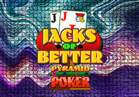 Pyramid Poker: Jacks Or Better